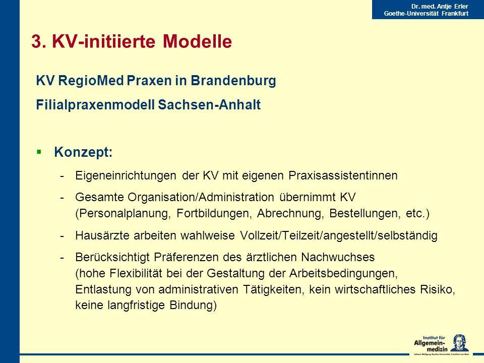 Dr.med. Antje Erler Goethe-Universität Frankfurt 3.