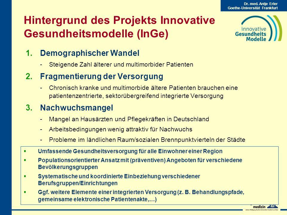 Dr.med. Antje Erler Goethe-Universität Frankfurt 2.