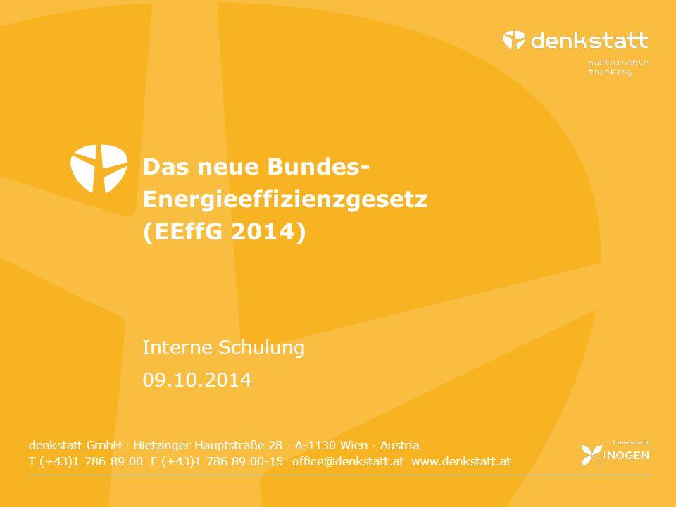 denkstatt GmbH Hietzinger Hauptstraße 28 · A-1130 Wien · Austria T (+43)1 786 89 00 F (+43)1 786 89 00-15 E office@denkstatt.at W www.denkstatt.at den