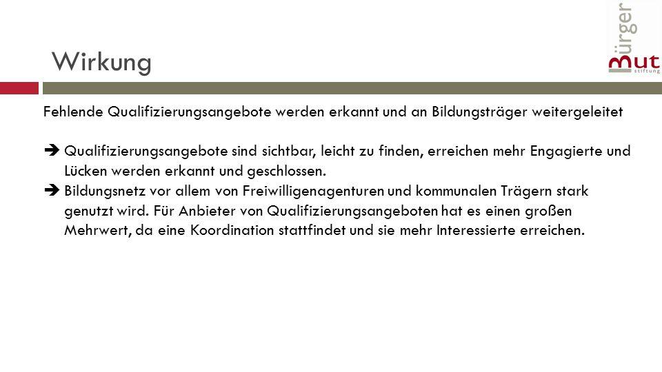 """Transfer in andere Bundesländer Das Erfolgsmodell """"Bildungsnetz für bürgerschaftlich Engagierte soll in andere Bundesländer exportiert werden."""