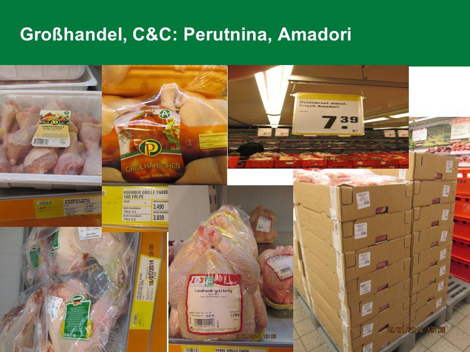 Großhandel, C&C: Perutnina, Amadori