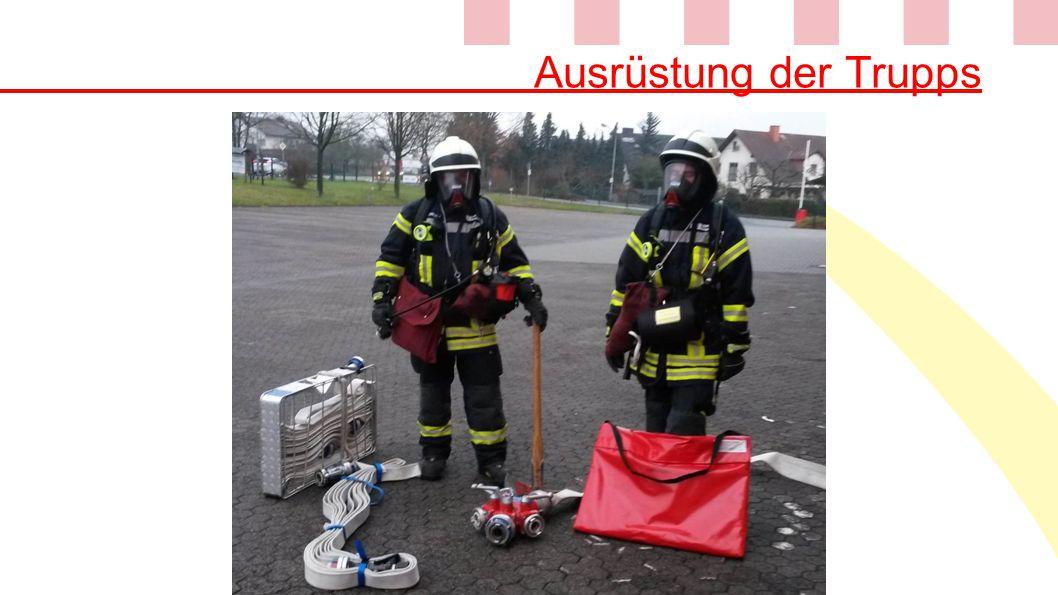 Ausrüstung der Trupps
