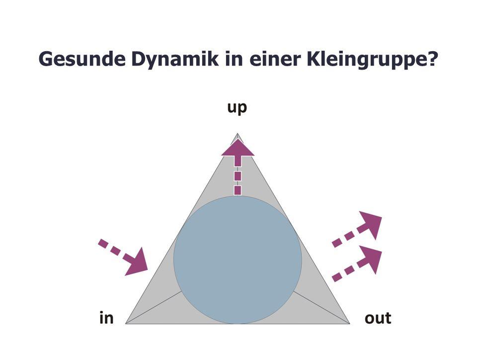 Gesunde Dynamik in einer Kleingruppe?