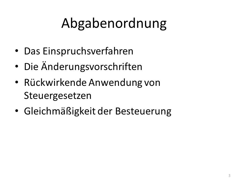 Dogmatischer Ausgangspunkt Art 3 Abs.