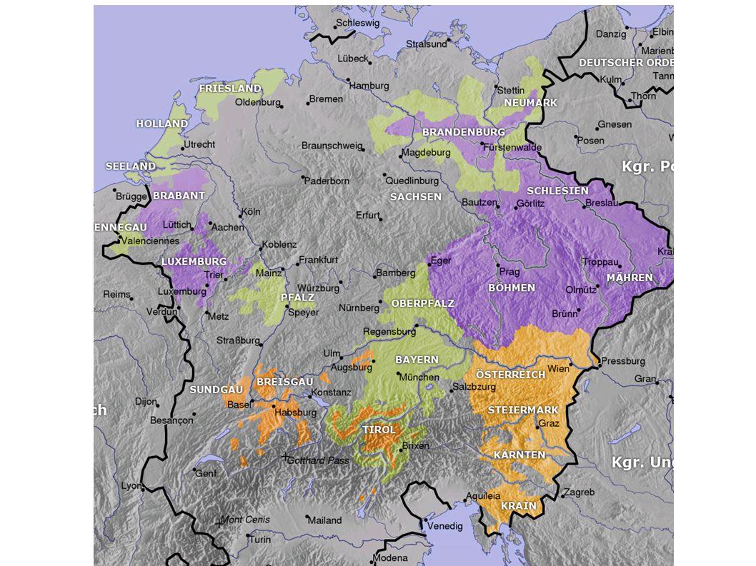 Die Schweiz Die Zähringer (Reichsvögte in Zürich) starben 1218 aus.