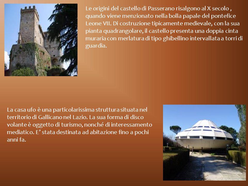 Le origini del castello di Passerano risalgono al X secolo, quando viene menzionato nella bolla papale del pontefice Leone VII. Di costruzione tipicam