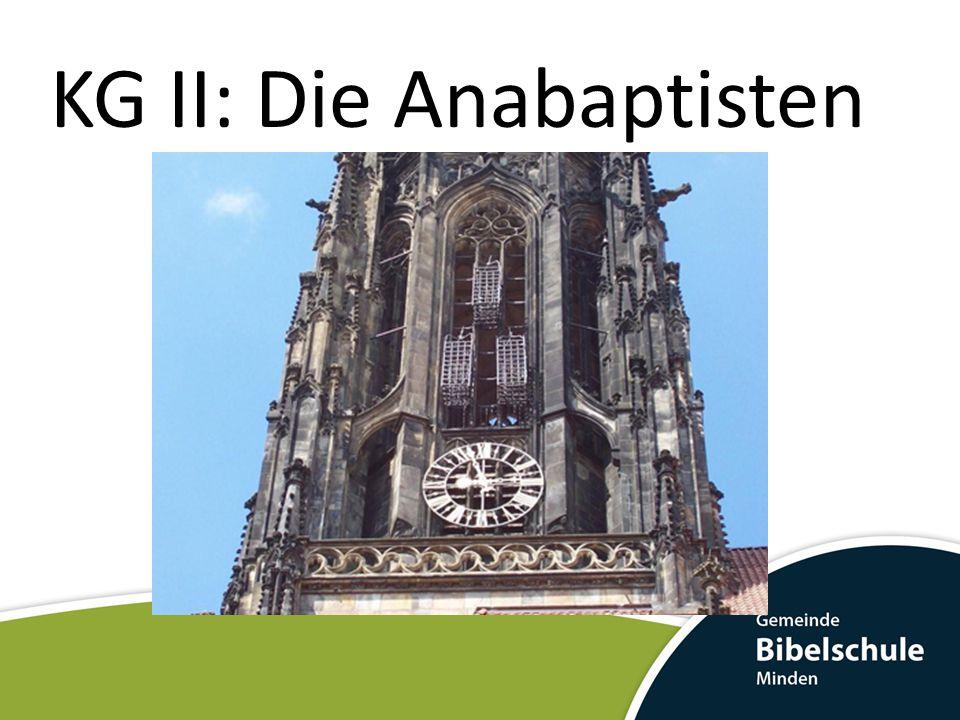 Nach der Kathastrophe zum Münster Menno Simons (* 1496 in Witmarsum; † 23.