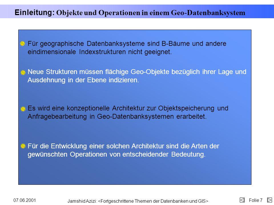 Jamshid Azizi: Folie 607.06.2001 Beispiel Kurz 104 101 102 107 105 106 110 100 Firma Deutsche Untern.. Computer Courier... Morton Ag... Therm AG... Bu