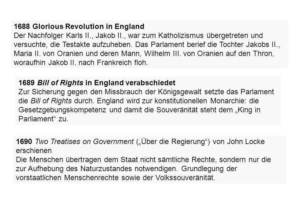1789 Französische Revolution Zum ersten Mal seit 175 Jahren beruft der französische König (Ludwig XVI.