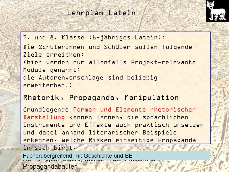 Lehrplan Latein 7.und 8.