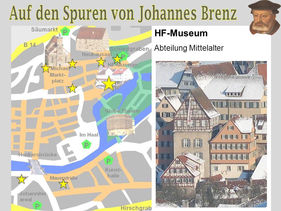 HF-Museum Abteilung Mittelalter