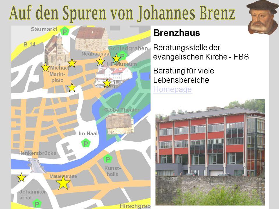 Brenzhaus Beratungsstelle der evangelischen Kirche - FBS Beratung für viele Lebensbereiche Homepage Homepage