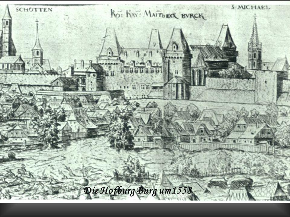 o Die Hofburg Burg heute