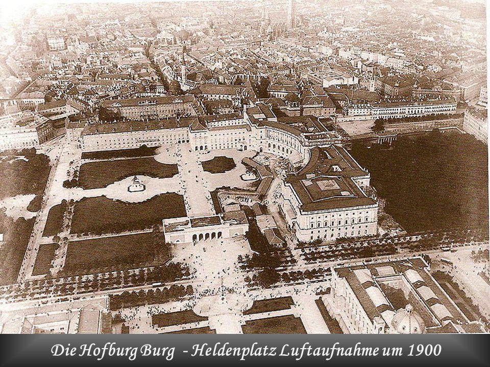 Die Hofburg Burg um1558