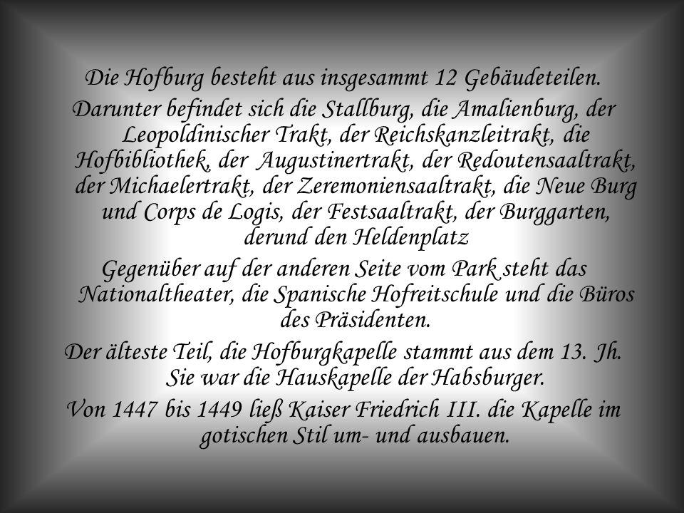 Die Hofburg Burg - Heldenplatz Luftaufnahme um 1900
