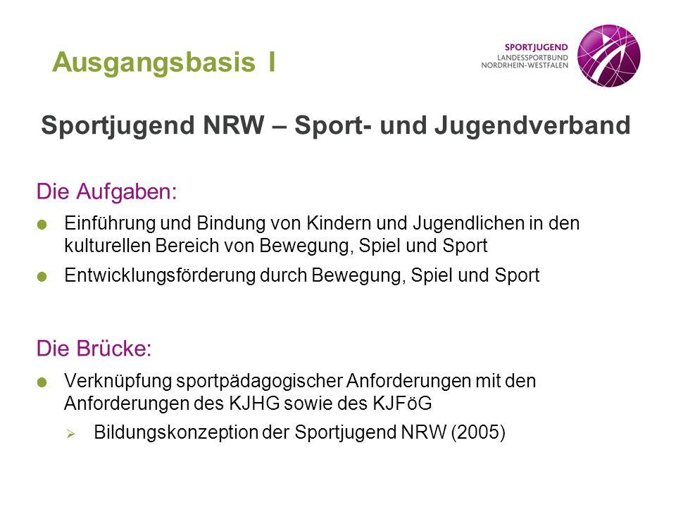 Die Aufgaben:  Einführung und Bindung von Kindern und Jugendlichen in den kulturellen Bereich von Bewegung, Spiel und Sport  Entwicklungsförderung d