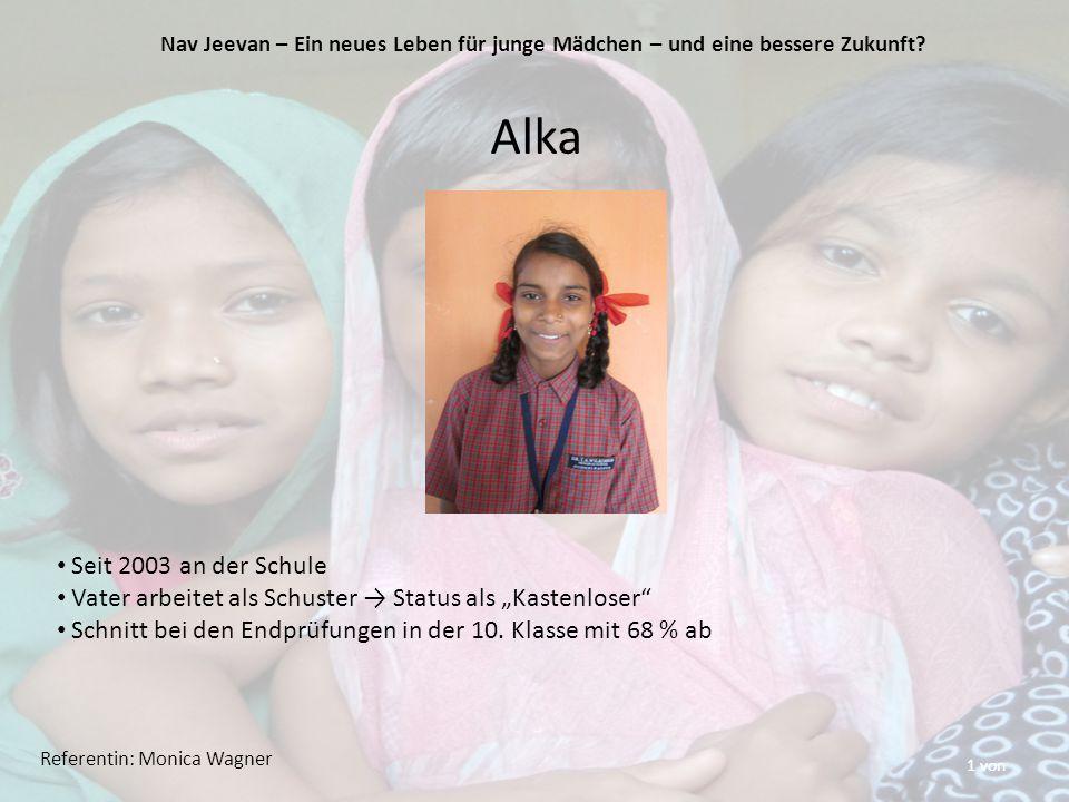 """1 von Alka Seit 2003 an der Schule Vater arbeitet als Schuster → Status als """"Kastenloser Schnitt bei den Endprüfungen in der 10."""