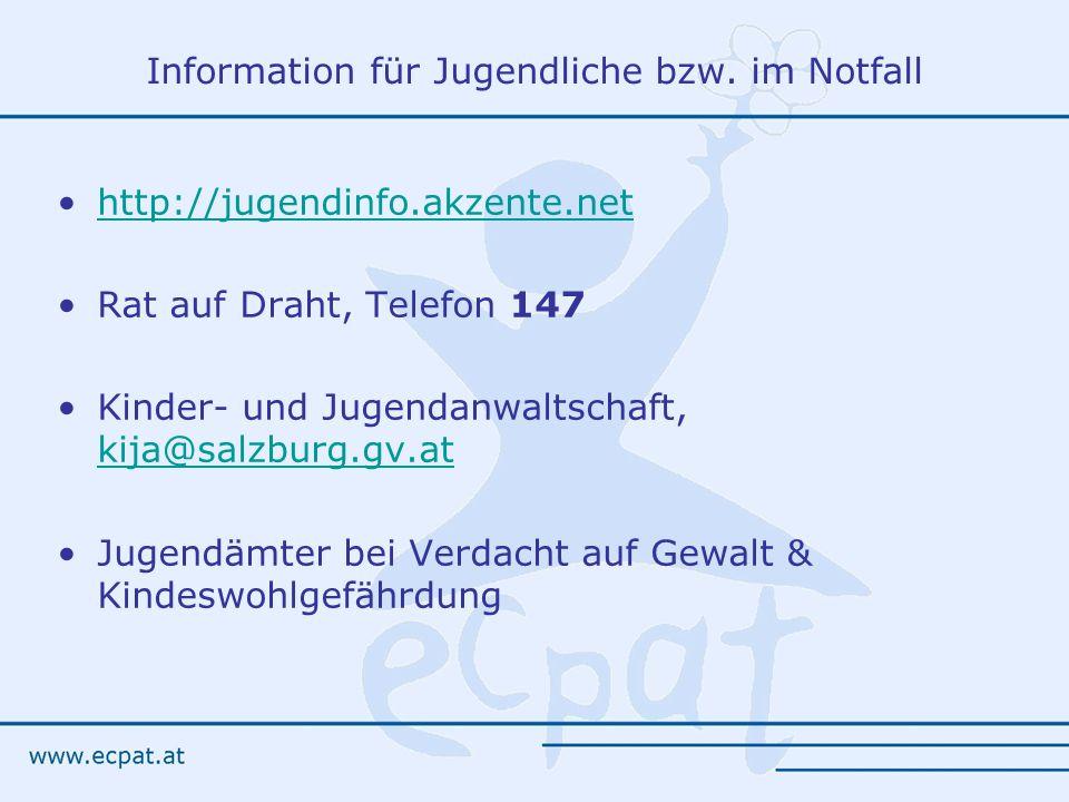 Information für Jugendliche bzw.