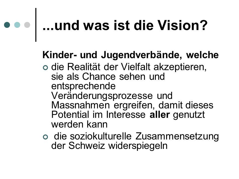 ...und was ist die Vision.