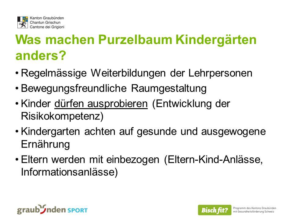 Was machen Purzelbaum Kindergärten anders.