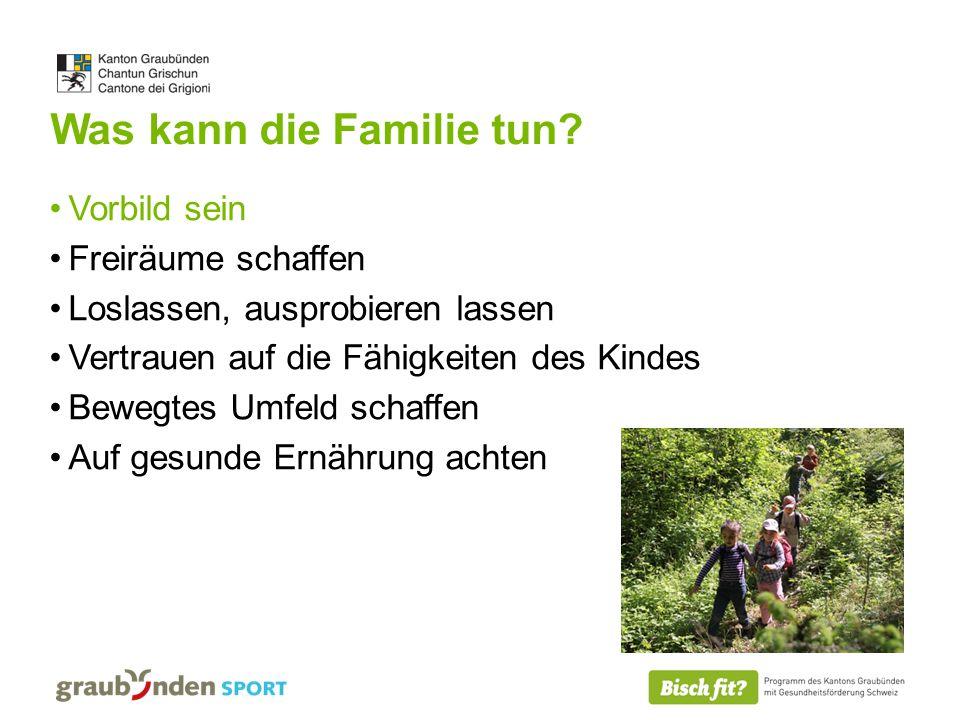 Was kann die Familie tun.