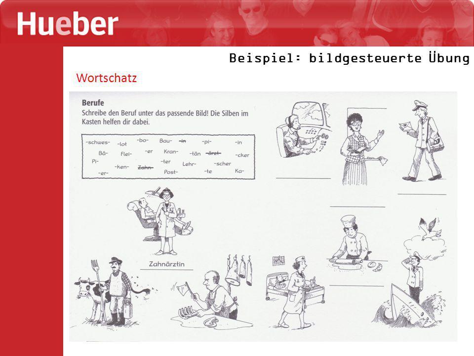 Wortschatz Beispiel: bildgesteuerte Übung