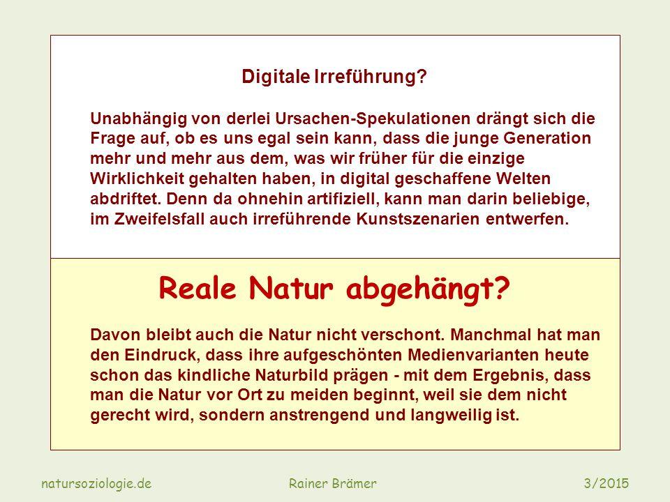 Digitale Irreführung.