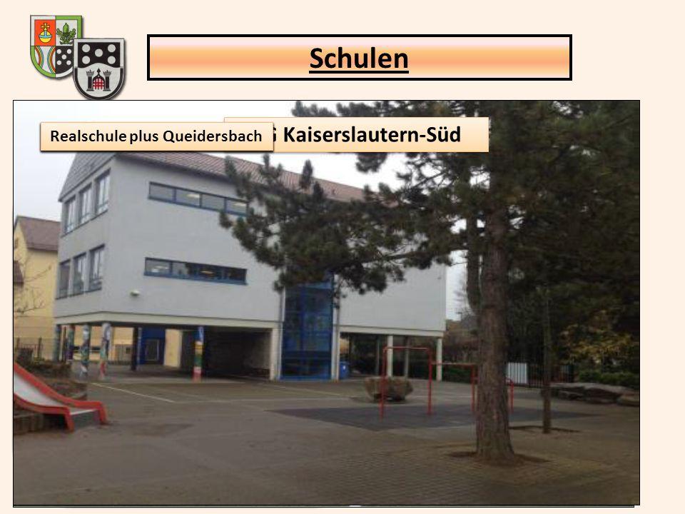 Realschule plus Queidersbach (offene GTS) Jahnstr. 23a, 66851 Queidersbach Träger: Verbandsgemeinde KL-Süd Schüler: 188 Klassen: 9 Personal: Hausmeist