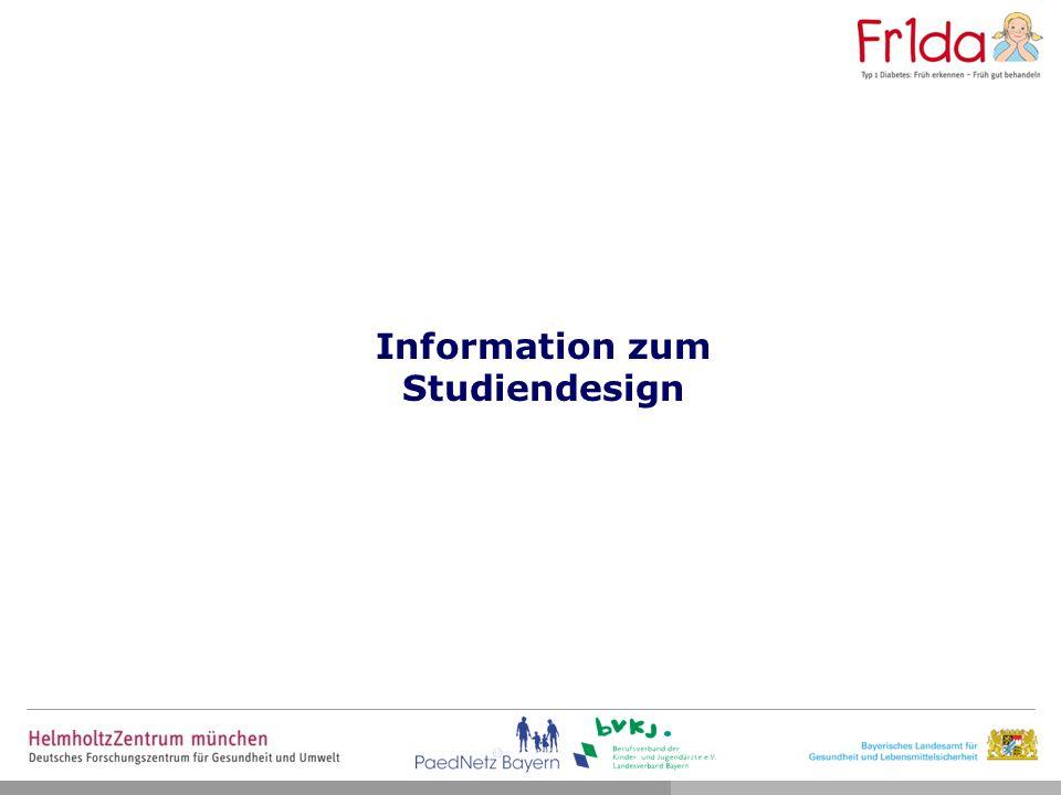 Information zum Studiendesign
