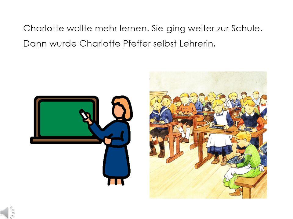 So sahen damals Schülerinnen aus. Von Charlottes Klasse gibt es leider kein Bild.