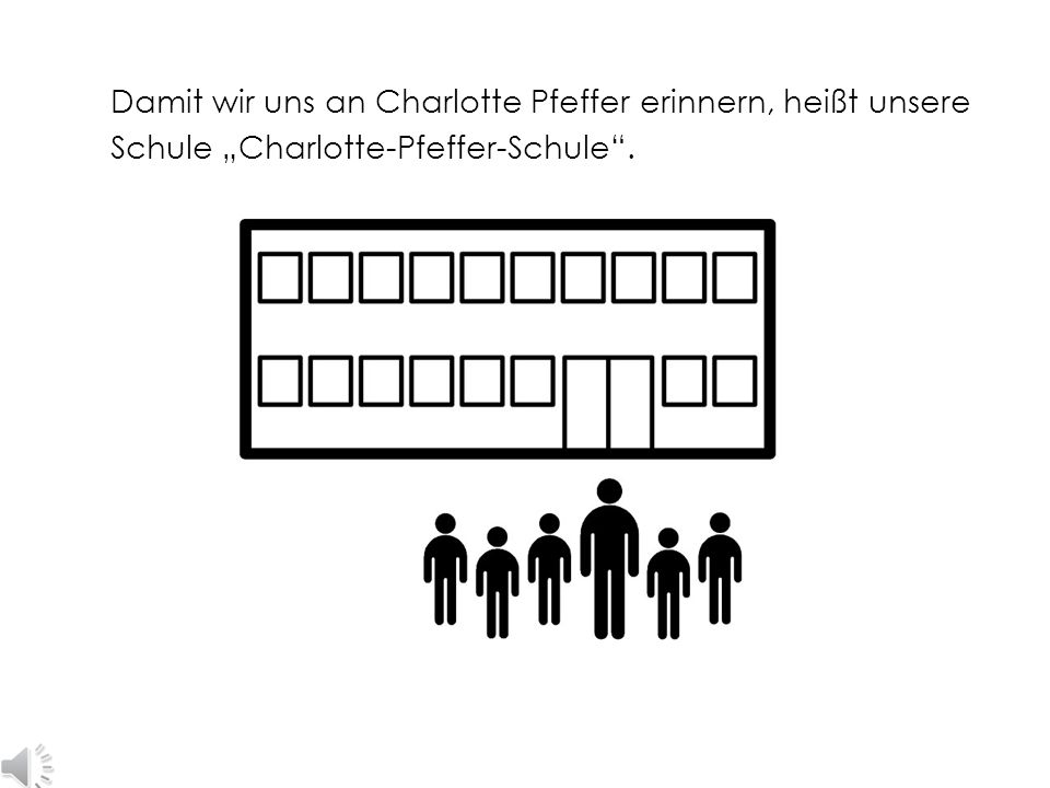 """Die Kinder hatten Charlotte Pfeffer gern. Sie nannten sie """"Tante Ima"""". Am 24. August 1970 starb Charlotte Pfeffer in Freiburg."""