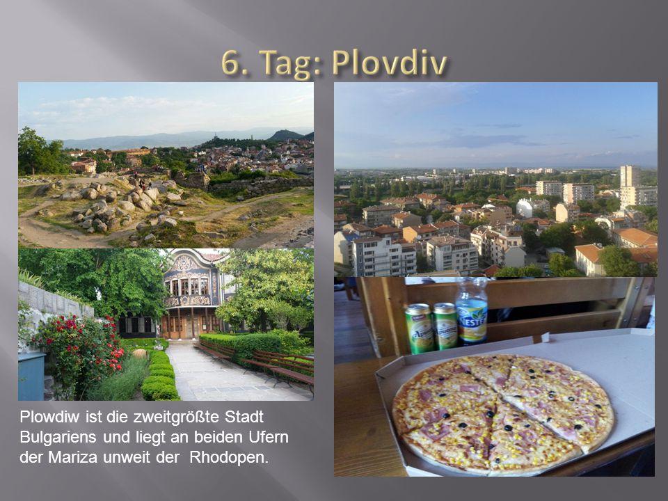 Plowdiw ist die zweitgrößte Stadt Bulgariens und liegt an beiden Ufern der Mariza unweit der Rhodopen.