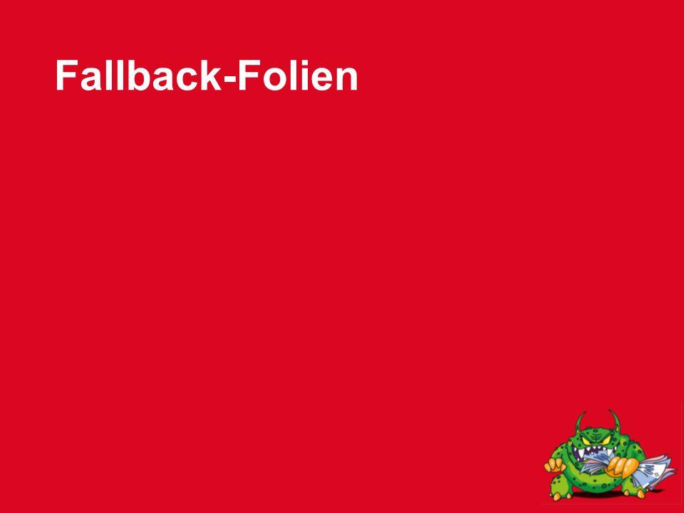 Fallback-Folien
