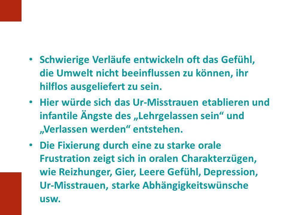 Stadium 2: Autonomie vs.Scham und Zweifel (2.-3.