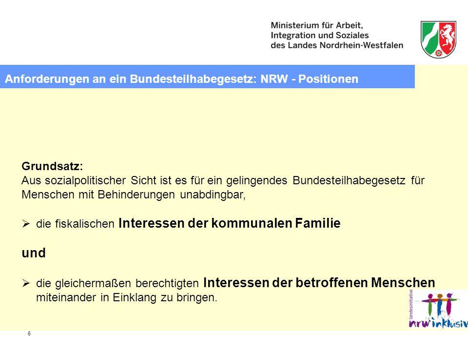 7 Bundesteilhabegesetz – Teilhabemöglichkeiten stärken.