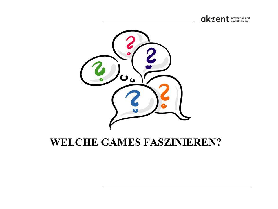 WELCHE GAMES FASZINIEREN?