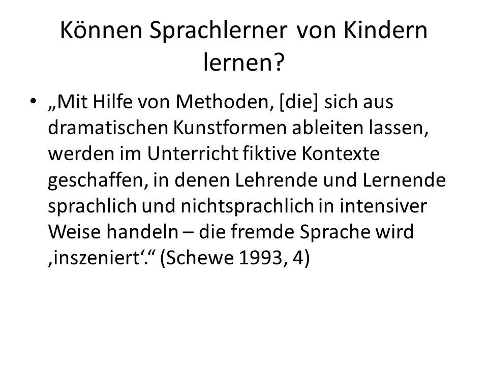 Pädagogik oder Ästhetik.