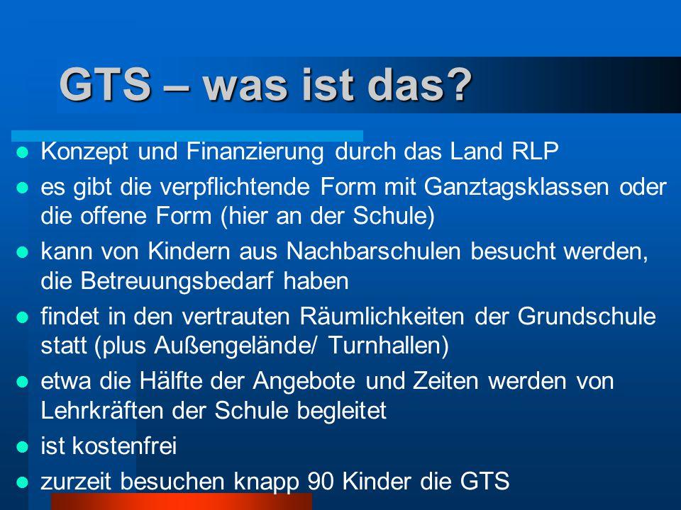 GTS – was ist das.