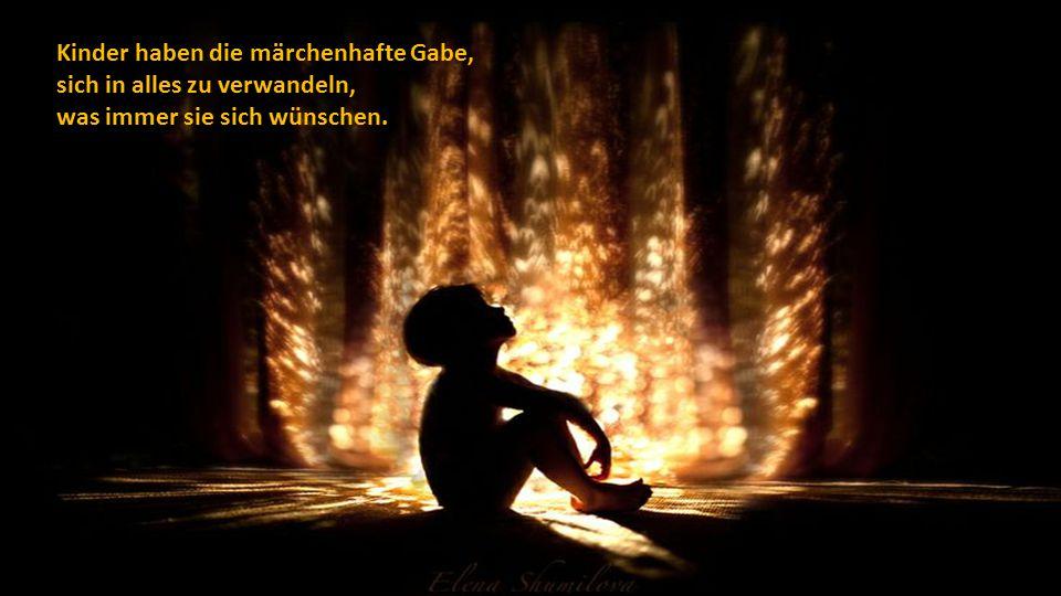 Kinder, die viel lachen, kämpfen auf der Seite der Engel.