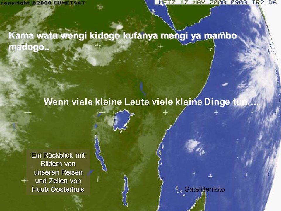 Kama watu wengi kidogo kufanya mengi ya mambo madogo..