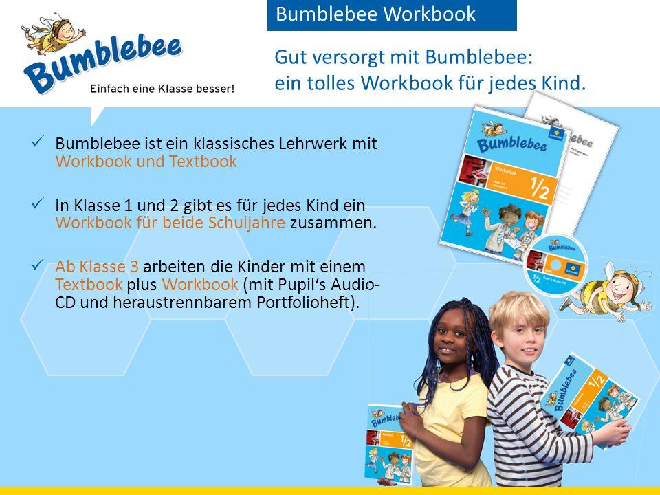 Gut versorgt mit Bumblebee: ein tolles Workbook für jedes Kind.