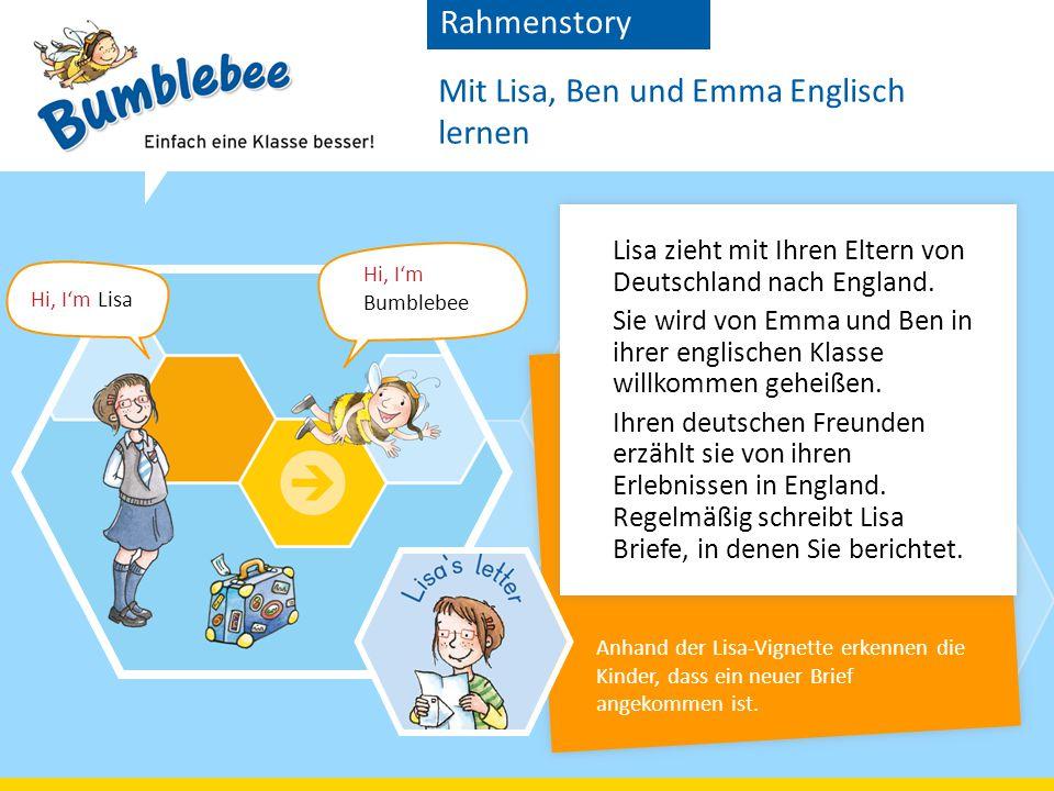 Lisa zieht mit Ihren Eltern von Deutschland nach England.