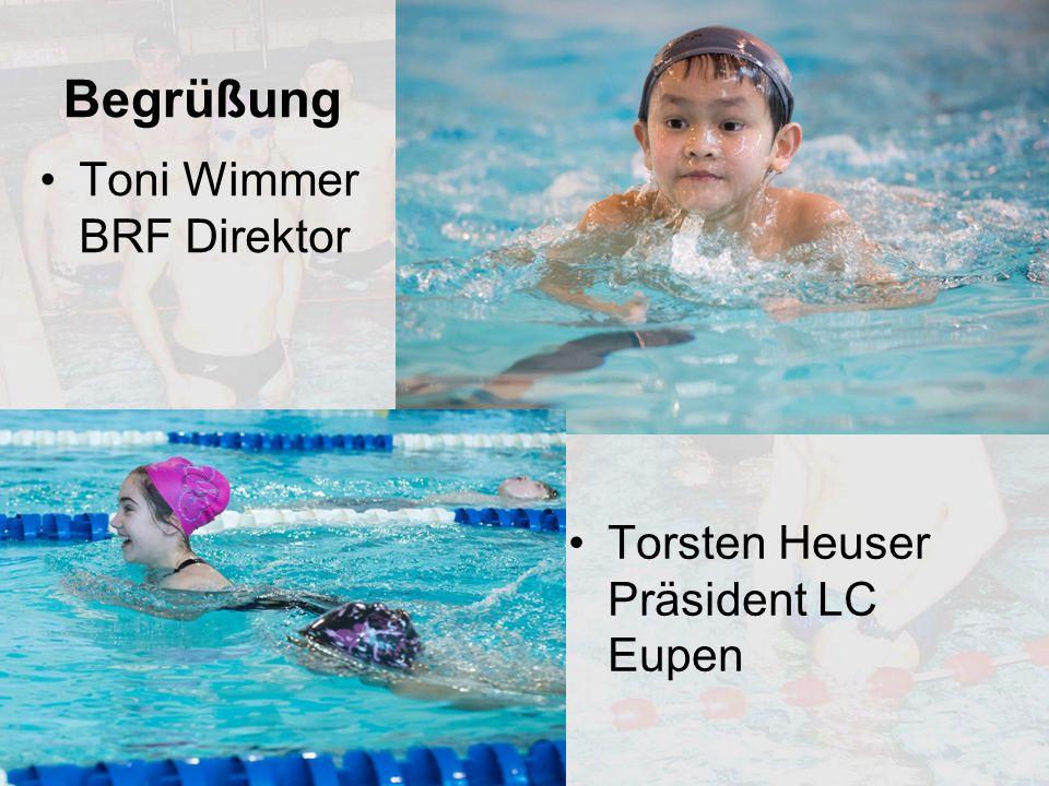 Begrüßung Toni Wimmer BRF Direktor Torsten Heuser Präsident LC Eupen