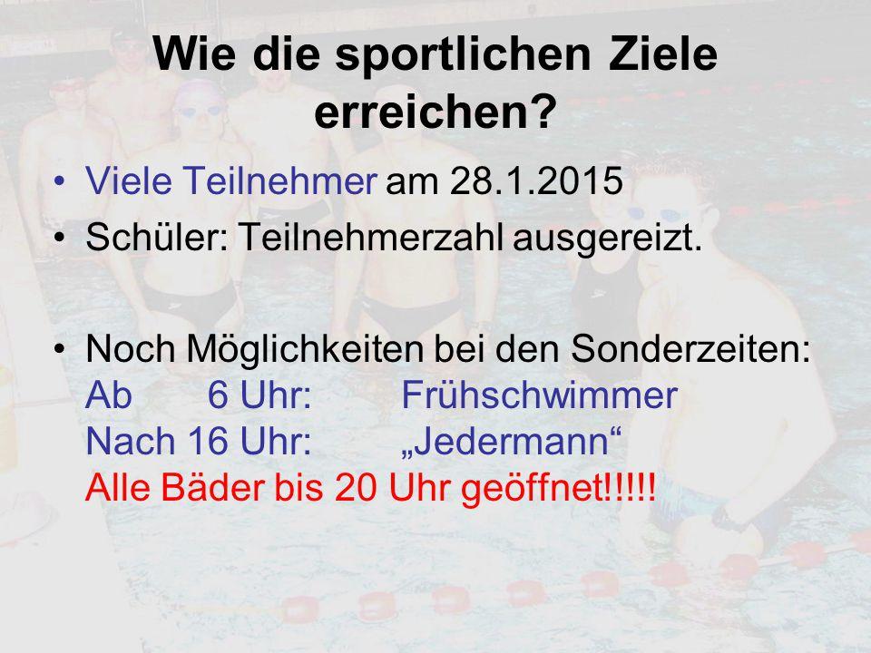 """Voranmeldungen Eupen Mo 26.1.ab 20.00 Uhr: Triathleten Motto: """"Ordentlich vorlegen Di 27.1."""