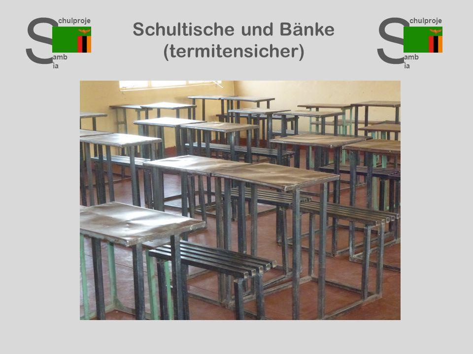 S chulproje kte amb ia S chulproje kte amb ia S chulproje kte amb ia Schultische und Bänke (termitensicher)