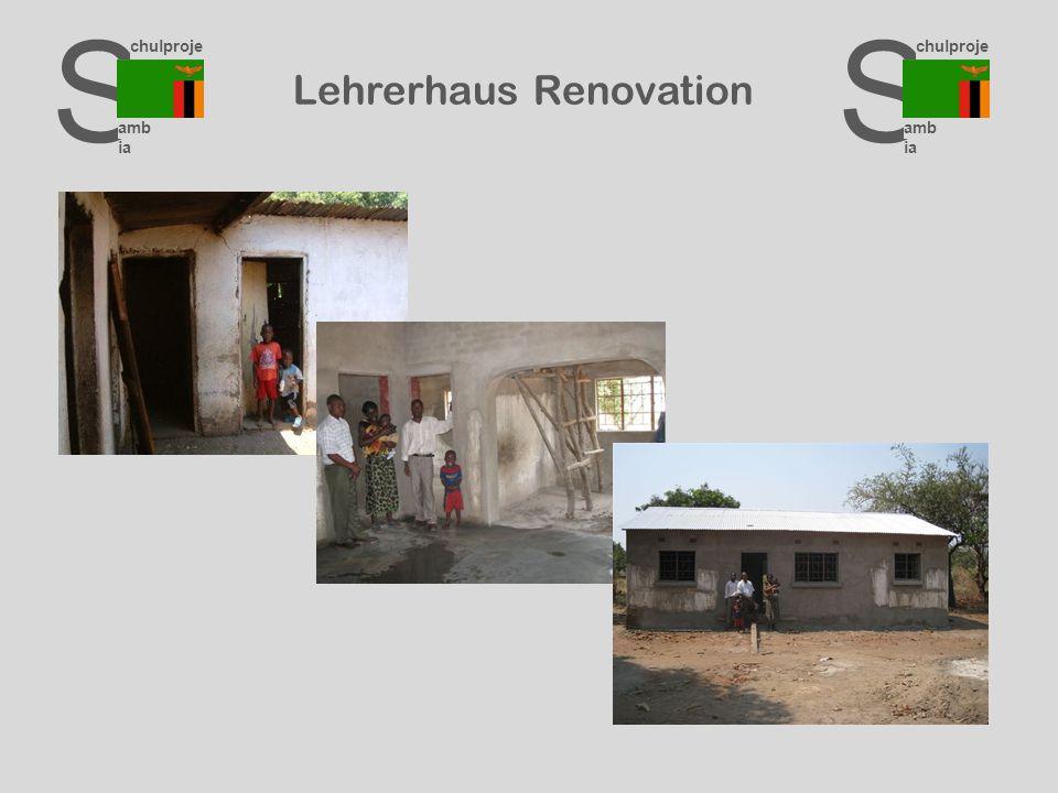 S chulproje kte amb ia S chulproje kte amb ia S chulproje kte amb ia Lehrerhaus Renovation
