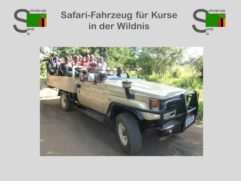S chulproje kte amb ia S chulproje kte amb ia S chulproje kte amb ia Safari-Fahrzeug für Kurse in der Wildnis