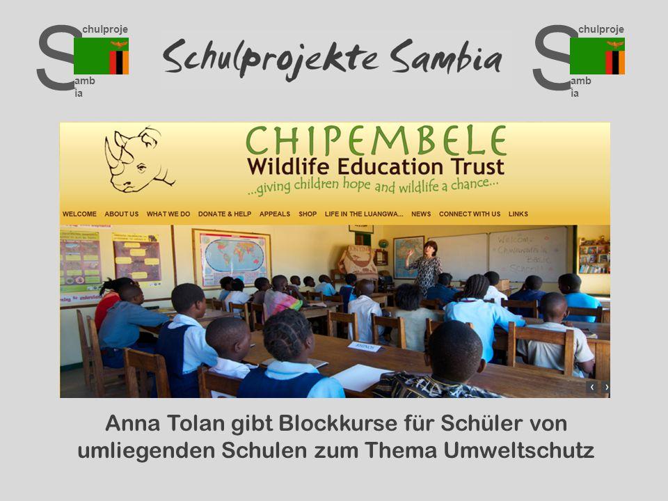 S chulproje kte amb ia S chulproje kte amb ia Anna Tolan gibt Blockkurse für Schüler von umliegenden Schulen zum Thema Umweltschutz