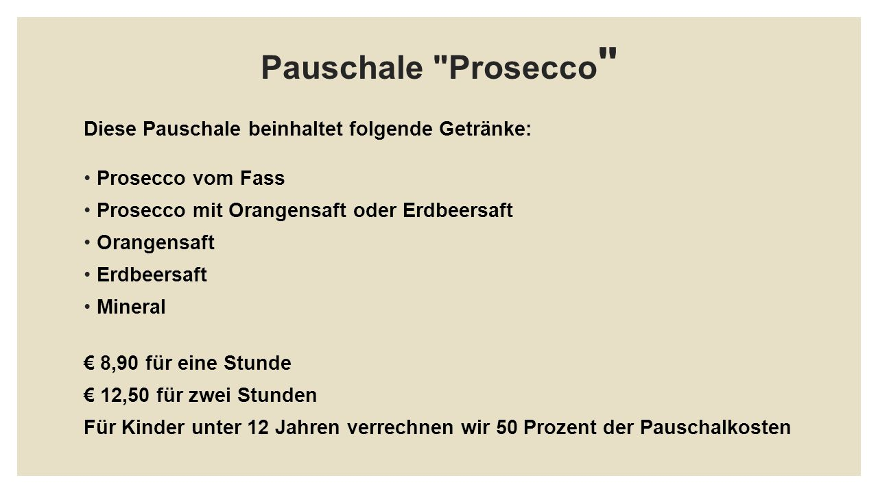Pauschale