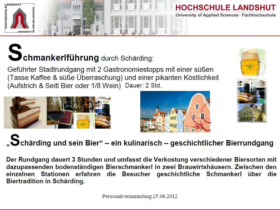Personalversammlung 25.06.2012 Dauer: 2 Std.